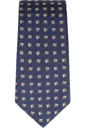 Dolce & Gabbana Heren Vlinderdassen - Geometric-print silk tie