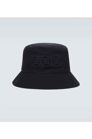 Fendi Bucket canvas hat