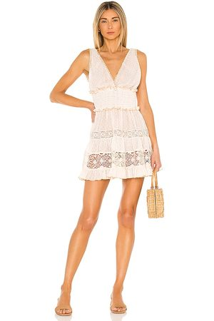 CHIO Short Lace Dress in
