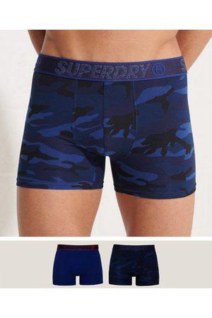Superdry Heren Sokken - Duopak boxers van biologisch katoen