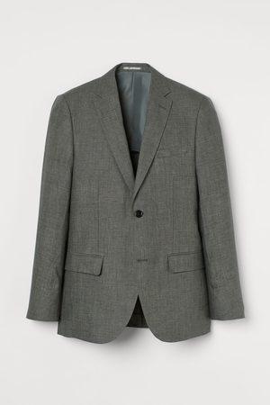 H & M Heren Blazers - Linnen blazer - Slim Fit