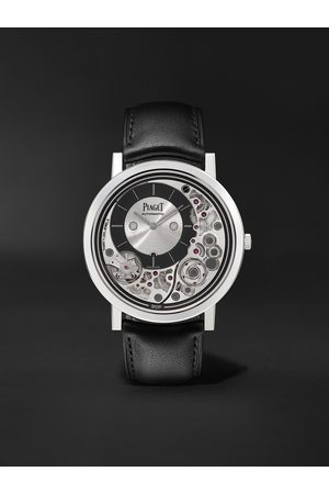 PIAGET Heren Horloges - Altiplano Ultimate Automatic 41mm 18-Karat White Gold and Leather Watch, Ref. No. G0B43121