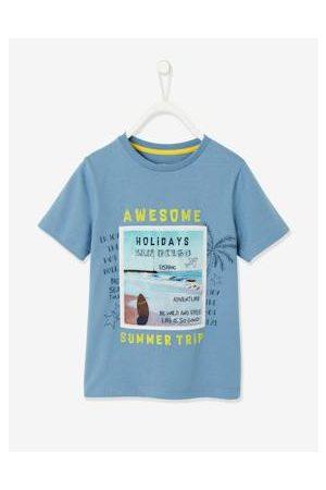 Vertbaudet Jongens-T-shirt met fotoprint surfpatroon