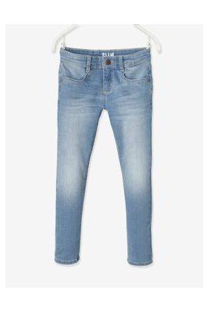 Vertbaudet Meisjes Slim - Slim fit jeans Morphologik heupomtrek MEDIUM gebleekt denim