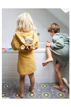 Vertbaudet Kinderbadjas Giraf oker