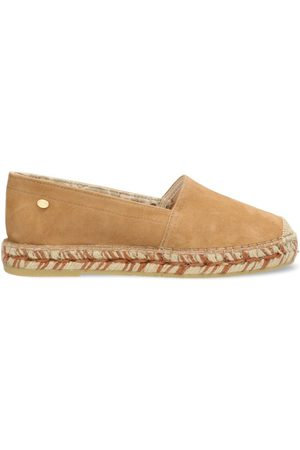 Fred de la Bretoniere Dames Espadrilles - Espadrille loafer suede light brown