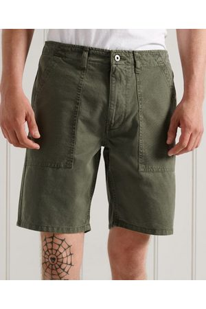Superdry Heren Shorts - Canvas Fatigue short