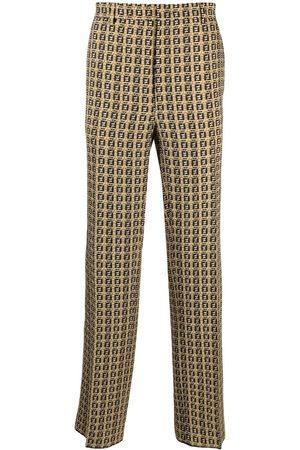 Fendi Heren Broeken - FF-print trousers