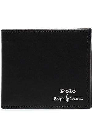 Polo Ralph Lauren Heren Portefeuilles - Logo-embroidered bifold wallet