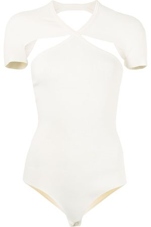 Khaite Vita cutout-detail bodysuit