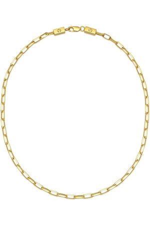 NORTHSKULL Large cable chain-link necklace
