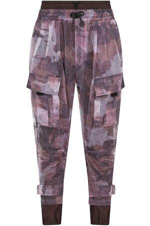 Dolce & Gabbana Heren Joggingbroeken - Camouflage-print track pants