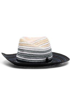 Le Mont St Michel Gradient-effect fedora hat