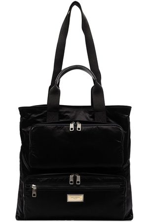 Dolce & Gabbana Zip-pocket tote bag