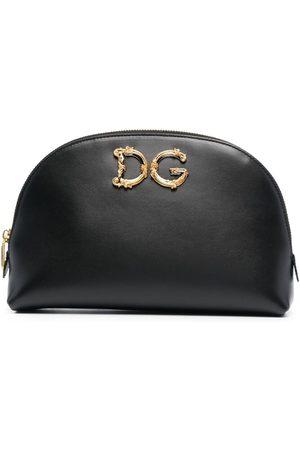 Dolce & Gabbana Embellished DG pouch bag