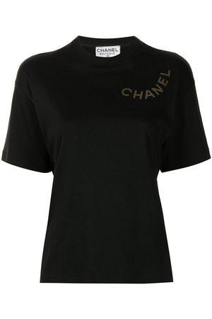 CHANEL Logo print T-shirt