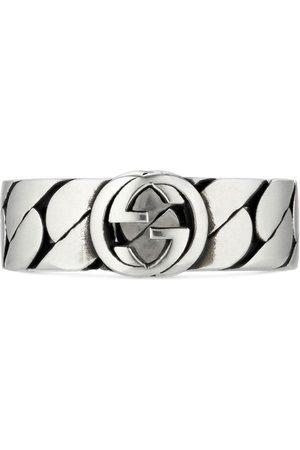Gucci Interlocking G wide ring