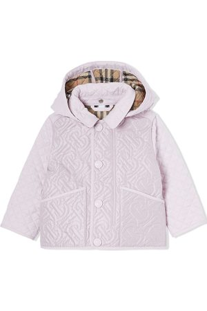 Burberry Padded hooded coat