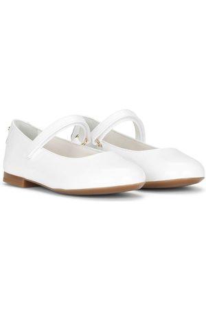 Dolce & Gabbana Meisjes Instappers - Round-toe ballerina shoes