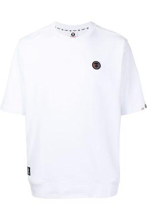 AAPE BY A BATHING APE Logo-patch T-shirt