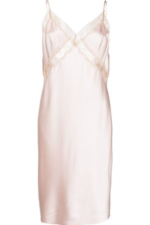 Kiki de Montparnasse Lace inset slip dress