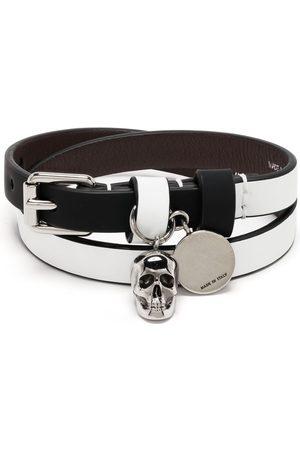 Alexander McQueen Wraparound skull bracelet