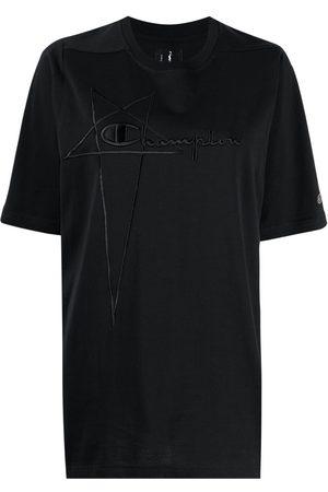 Rick Owens Logo-print short-sleeved T-shirt