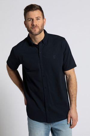 JP 1880 Grote Maten Piqué Overhemd Flexnamic®, Heren