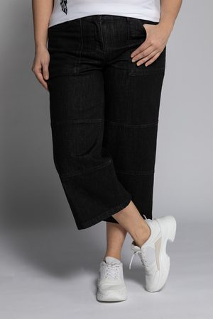 Ulla Popken Grote Maten Jeans Culotte, Dames