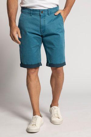 JP 1880 Grote Maten Korte Jeansbroek, Heren, turquoise