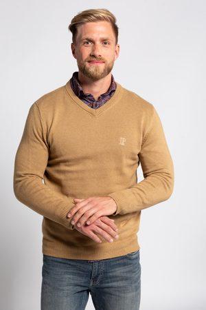 JP 1880 Grote Maten V-pullover, Heren