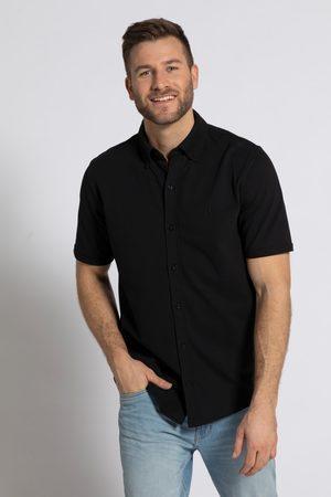 JP 1880 Heren Overhemden - Grote Maten Piqué Overhemd Flexnamic®, Heren