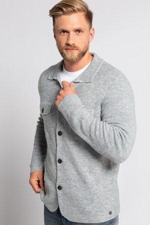 JP 1880 Heren Overhemden - Grote Maten Gebreid Overhemd, Heren