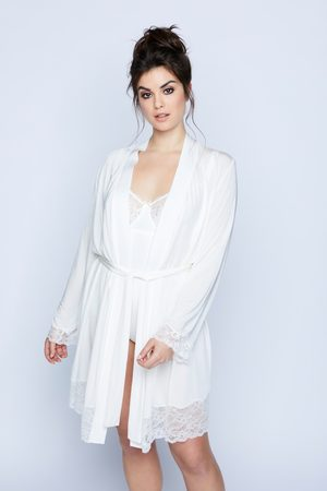 Ulla Popken Grote Maten Kimono, Dames