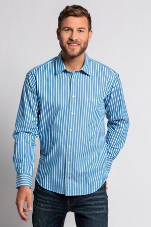 JP 1880 Heren Overhemden - Grote Maten Gestreept Overhemd., Heren