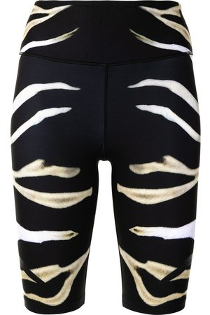 Camilla Zebra print bike shorts