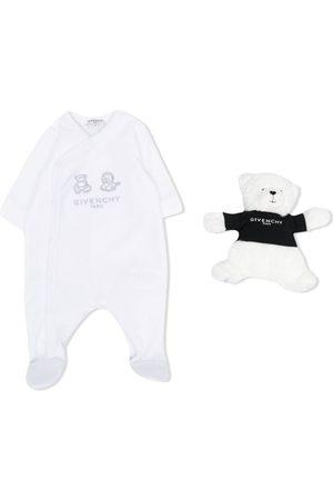 Givenchy Animal-embroidered pajamas