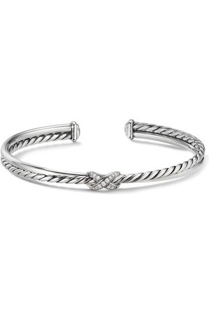 David Yurman X diamond bracelet