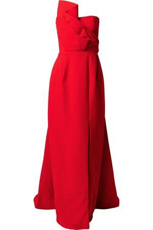 Azzi & Osta Strapless column gown