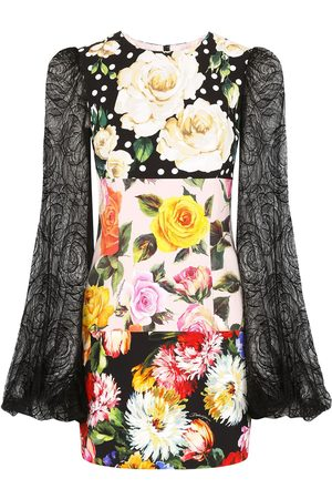 Dolce & Gabbana Patchwork floral mini dress