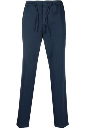 Manuel Ritz Slim-cut cotton track pants