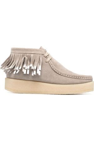 Clarks Ariadne Craft lace-up boots