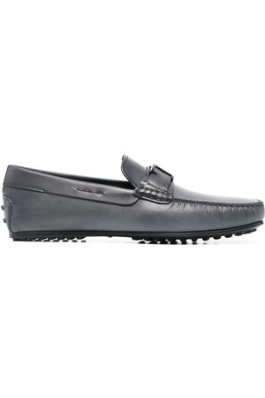 Tod's Gommino logo-plaque loafers