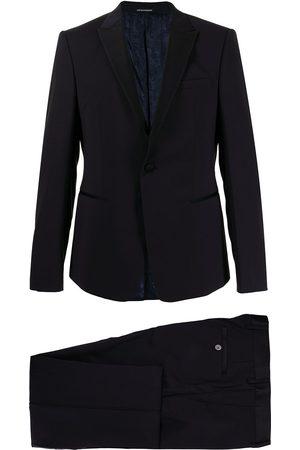 Emporio Armani Heren Pakken - Soho tuxedo wool suit