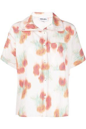 Kenzo Coquelicot' boxy shirt
