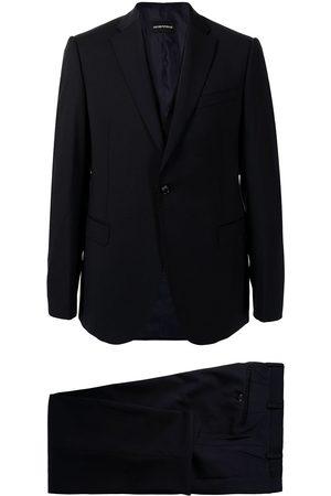 Emporio Armani Woollen single-breasted suit