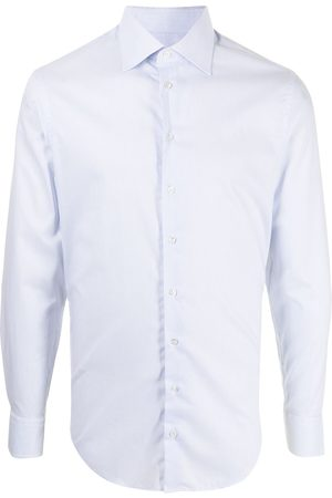 Armani Heren Lange mouw - Long-sleeved cotton shirt
