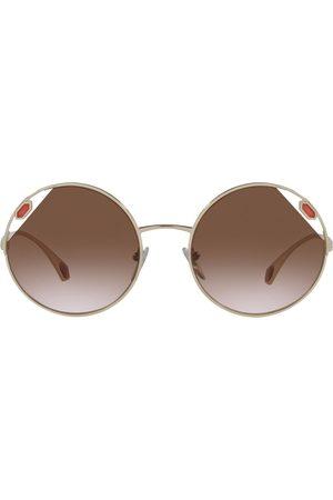 Bvlgari Cut-out detail sunglasses