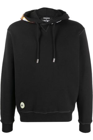 Dsquared2 Patch-detail drawstring hoodie