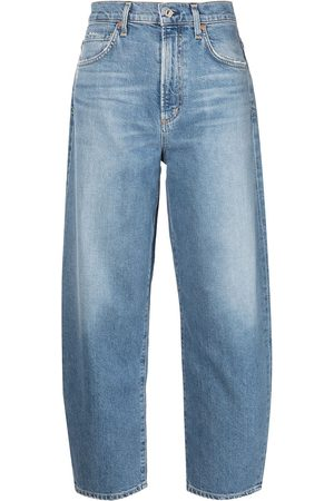 Citizens of Humanity Dames Straight - High rise curved jeans